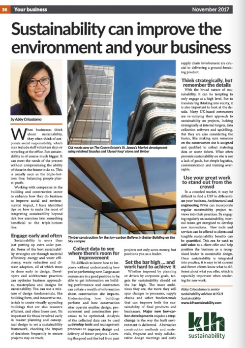 London Business Matters LCCI magazine